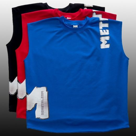 'M' SLEEVELESS T-SHIRT (2013004)