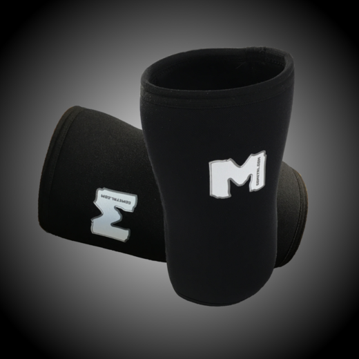 'M' KNEE SLEEVES 6MM (IPF approved) (18017)