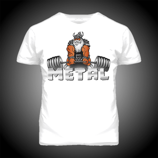 II QUALITY | VIKING DEADLIFT T-SHIRT (19012-2)