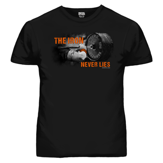 THE IRON NEVER LIES T-SHIRT (19053)