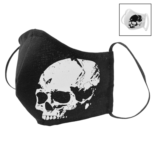 SKULL | Fabric facial mask (shaped)